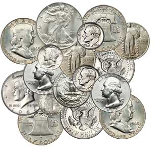 90% Silver coins - coin shop in lutz 33558